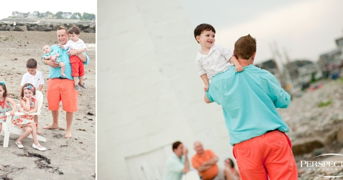 Scituate Lighthouse | Family Portraits
