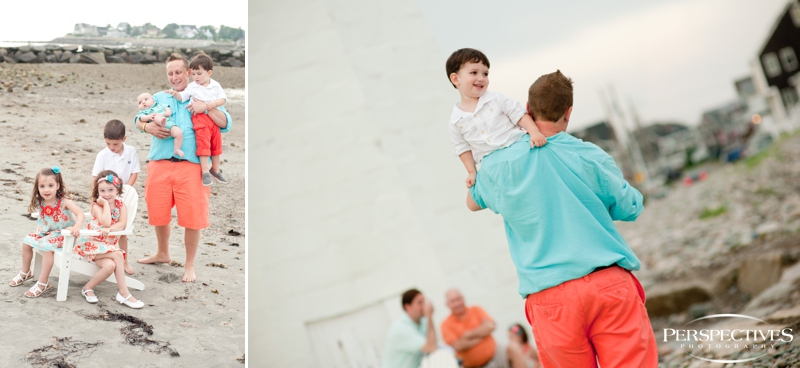 Scituate Lighthouse   Family Portraits