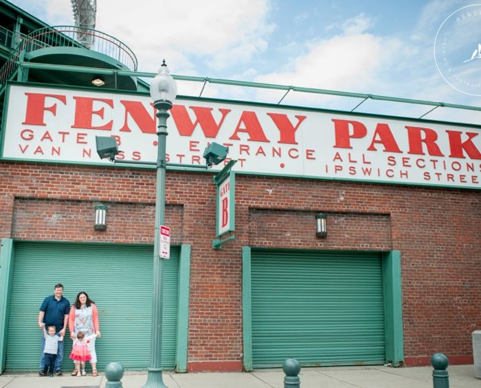 Fenway Park Portrait Session | Spring Portraits in Boston