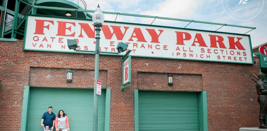 Fenway Park Portrait Session | Spring Portraits in Boston